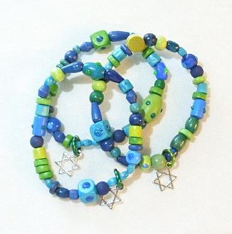 Aquatic Wood Bracelet