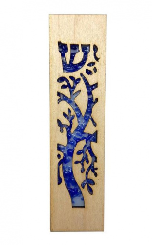 Beames Designs Wood Laser Cut & Glass Tree of Life
