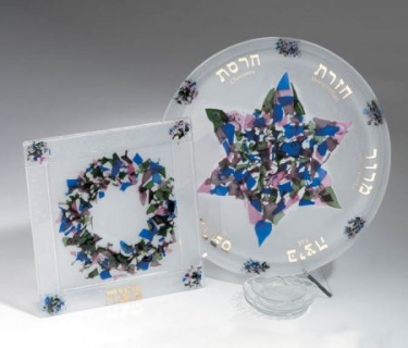 Beames Designs Seder and Matza Set