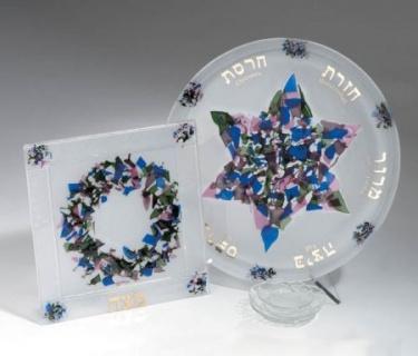 Beames Designs Seder and Matza Set