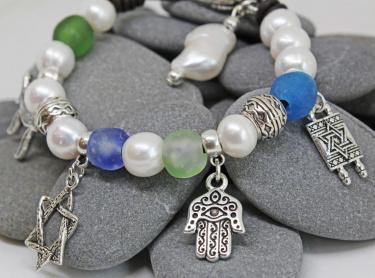 Jewish Charm Bracelet