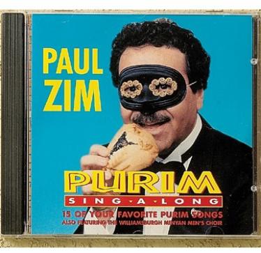 Paul Zim's Purim CD