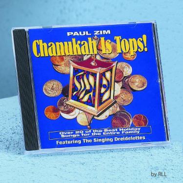 Paul Zim's Chanukah Is Tops CD