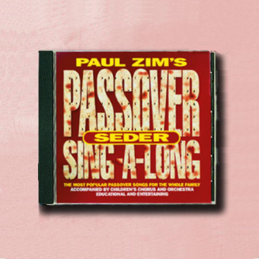 Paul Zim's Passover Sing-A-Long CD