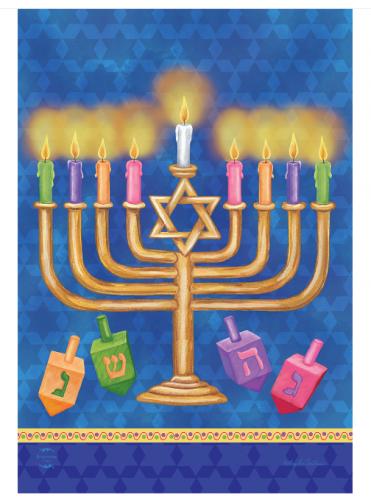 Chanukah_flag_menorahdreidel_2