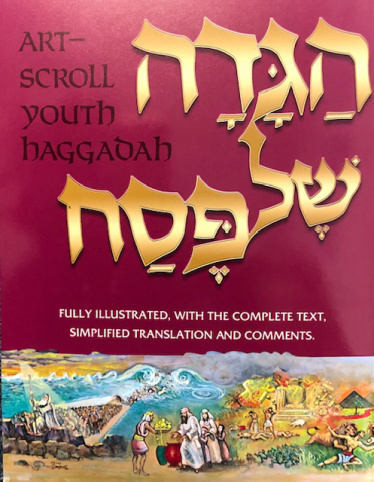 Haggadah: Illustrated Youth Edition [Paperback]