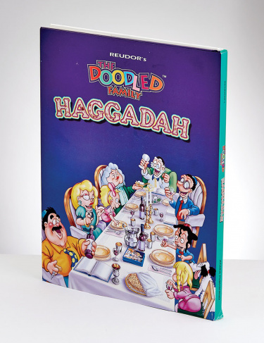 Doodle Family™ Haggadah, Hard Cover