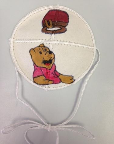 Pooh Baby Bris Kipah