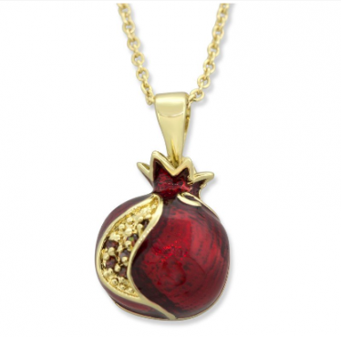 Marina_Pomegrante_necklace