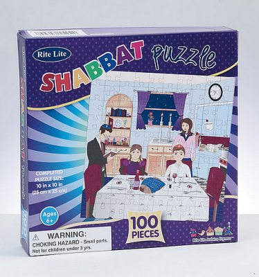 Shabbat Puzzle 100 Pieces
