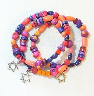 Sunset Wood Bracelet