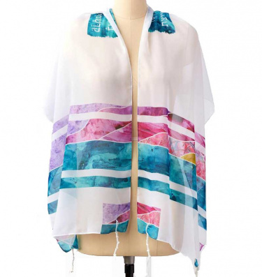 Ocean Sunset Tallit Set