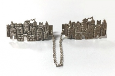 Jerusalem Tallit Clips by Nadav Art