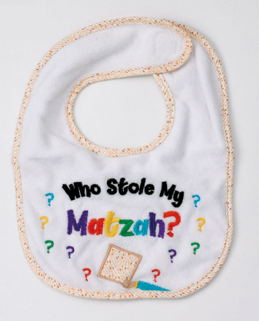 Passover Who Stole the Matzah Bib