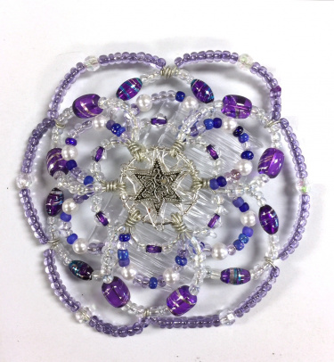 Desert Kippot Purple Pleasure
