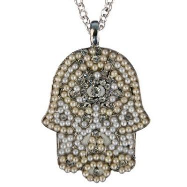 Large Hamsa Necklace