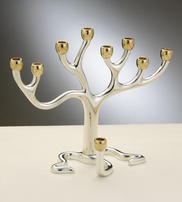 Tree Of Life Menorah, Medium