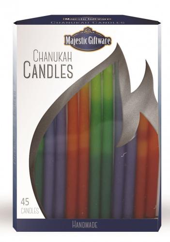 Majestic Premium Multi Chanukah Candles