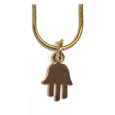 Small Gold Hamsa by Marina Meiri