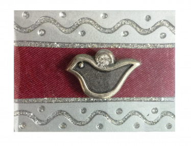 Match Box Dove Design - Red by Lily Art