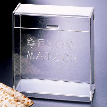 Acrylic Stand-up Matzoh Box