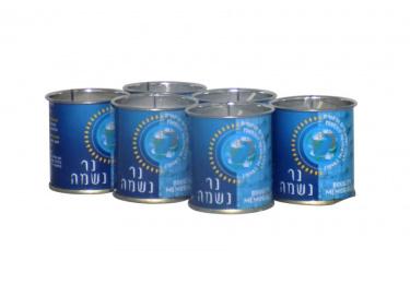 Yahrzeit 1 Day Memorial Tin - 6 Pack