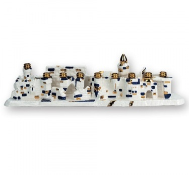 Jerusalem Ceramic Menorah