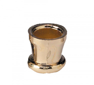 Set of 9 Brass-Plated Candle Cups