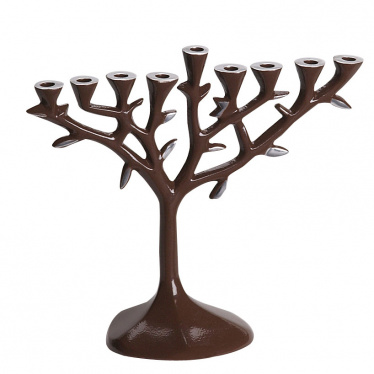 menorah_tree_aluminium_brown