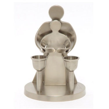 Our Love Pewter Candlesticks