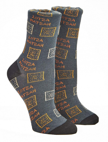 Lotza Matzah Passover Adult Crew Socks