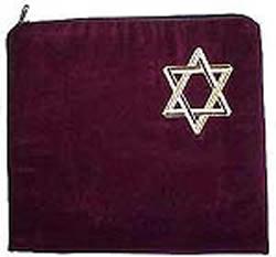 Star of David Tallit Bag