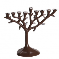 menorah_tree_aluminium_brown