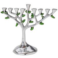 menorah_tree_aluminium_silver