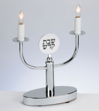 shabbat_electric_candlesticks